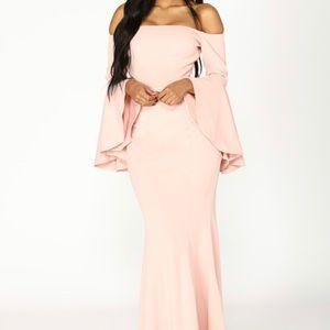 Fascination off shoulder dress